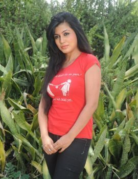 Telugu Actress Aarthi Puri Latest Photos at Sanghatana Movie Launch