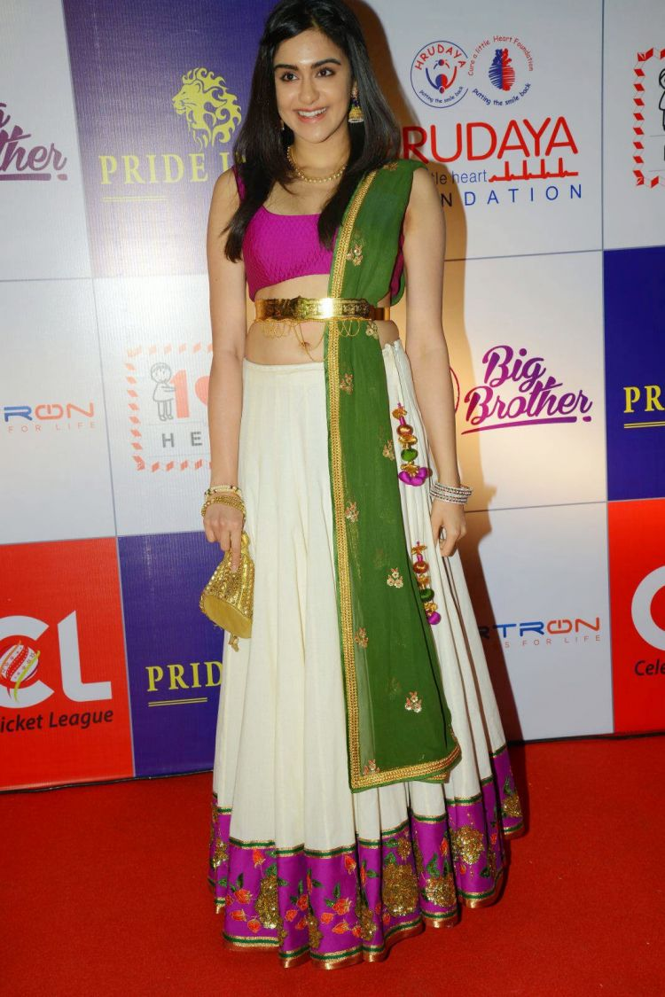 Adah Sharma at CCL 5 Charity Dinner