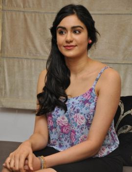 Adah Sharma Interview Stills About Movie S/O Satyamurthy
