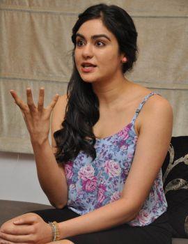 Adah Sharma Interview Stills About Movie S/O Satyamurthy
