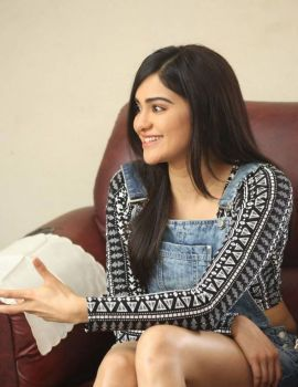 Adah Sharma Stills at Garam Movie Interview