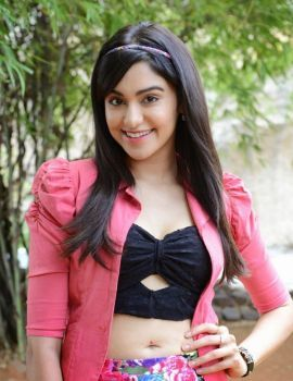 Beautuful Actress Adah Sharma at Garam Movie Launch