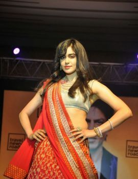 Telugu Actress Adah Sharma Ramp Walk at Travel New Roads Magazine Launch Fashion Show