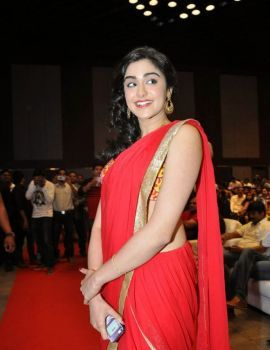Telugu Heroine Adah Sharma Pics at Son Of Satyamurthy Movie Audio Release