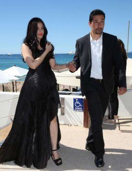 Aishwarya Rai on a Photoshoot at Martinez Beach in Cannes