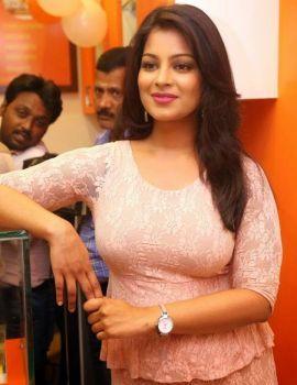Akanksha Stills at The Thickshake Factory Opening Event