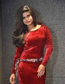 Alekhya Angel Kondapalli Stills at Akkadokaduntadu Movie Teaser Launch