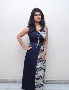 Telugu Actress Alekhya Photos at Plus One Movie Audio Launch