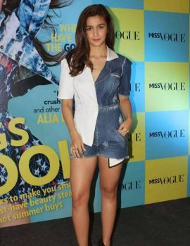 Alia Bhatt at Miss Vogue India Magazine Launch