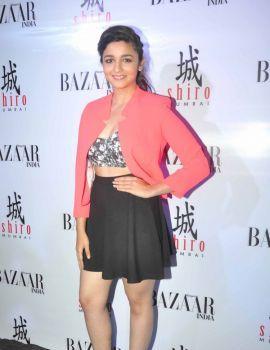 Alia Bhatt Unveils Harper's Bazaar Fashion Magazine