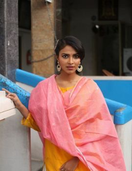 Amala Paul Photos at Cosmos Production No. 3 Movie Launch