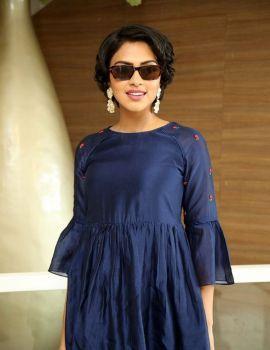 Amala Paul Photos at Rakshasudu Movie Success Meet