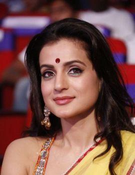 Bollywood Beauty Ameesha Patel at TSR-TV9 Film Awards 2011-12