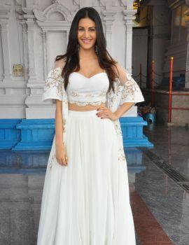Amyra Dastur at Anandi Indira Production New Movie Launch