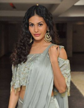 Amyra Dastur Stills at Manasuku Nachindi Pre Release Event