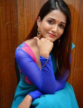 Anaika Soti Stills at 365 Days Movie Trailer Launch Event