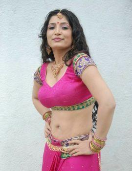 Kannada Actress Anitha Bhat Hot Photoshoot Stills