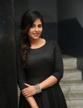 Actress Anjali at Chitrangada Movie Success Meet