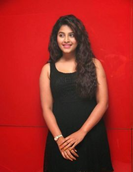 Anjali Glamorous Photos in Black Dress