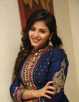 Anjali Stills at Chitrangada Movie Pre Release Function