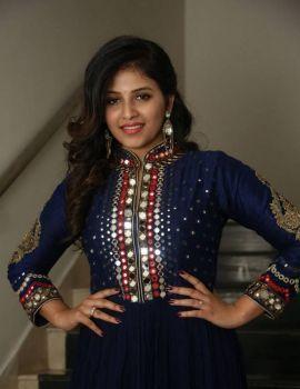 Anjali Stills at Chitrangada Movie Pre Release Function