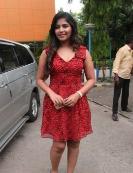 Anjali Stills At Sakalakala Vallavan Appatakkar Movie Press Meet