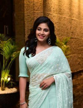 Anjali Stills at Vakeel Saab Maguva Nee Vijayam Event