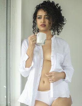 Apsara Rani aka Anketa Maharana Latest Photoshoot for Movie Thriller