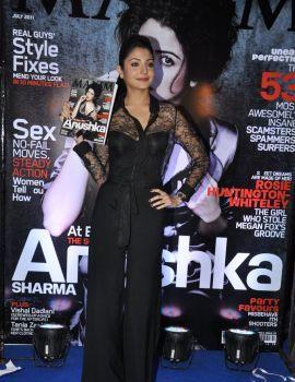 Anushka Sharma Unveiled the July 2011 Cover of Maxim Magazine