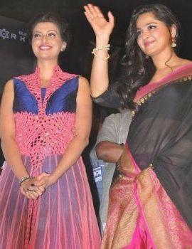 Anushka at Rudramadevi Movie Audio Launch at Warangal