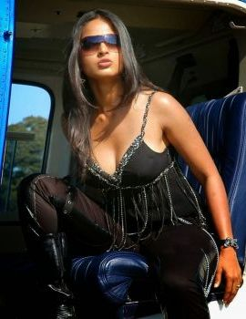 Anushka Shetty in Black Dress Photos