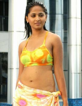 South Indian Actress Anushka in Hot Bikini