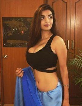 Anveshi Jain Stills in Saree