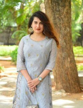 Archana Stills at Vajra Kavachadhara Govinda Movie Success Meet