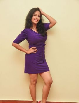 Actress Asha Saini at Sahasra movie success meet