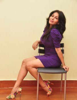 Actress Asha Saini at Sahasra movie success meet