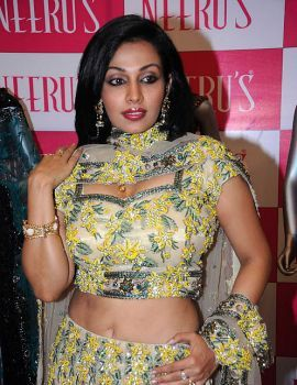 Asha Saini Spotted at Neerus Shopping Mall