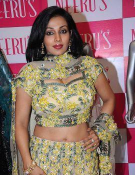 Asha Saini Spotted at Neerus Shopping Mall