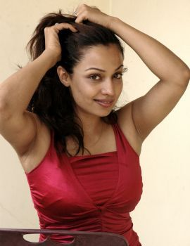 Telugu Actress Flora (Asha Saini) Photoshoot Stills