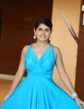 Telugu Actress Ashima Narwal Stills at Killer Movie Success Meet