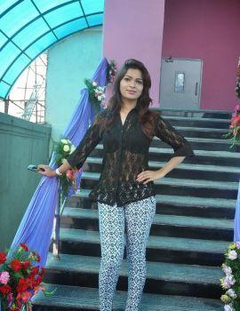 Actress Ashwini Stills at Cinetown Launch