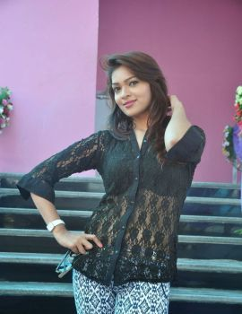 Actress Ashwini Stills at Cinetown Launch