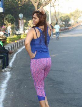 Ashwini Latest Photos at 10K Run 2016 Event