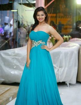 Ashwini Latest Photos in Blue Gown