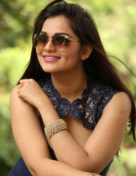 Ashwini Latest Stills at Telugu Movie Vinodam 100% Press Meet