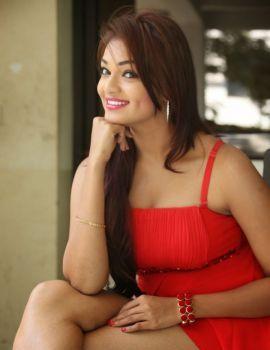 Telugu Actress Ashwini Photos at Vinodam 100 Percent Movie Press Meet