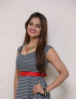 Telugu Actress Ashwini Stills at Pelliki Mundu Prema Katha Trailer Launch