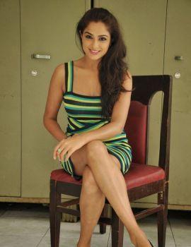 Asmita Sood Photos at Aa Aiduguru Movie Trailer Launch