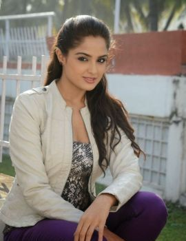 Asmita Sood Photos at Goutham Neelima Movie Launch