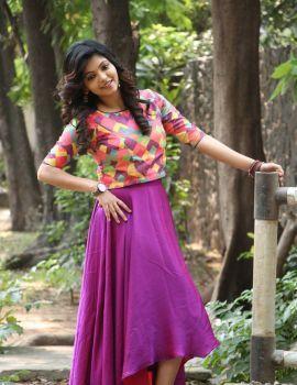 Athulya Ravi Photos at Yemaali Movie Press Meet